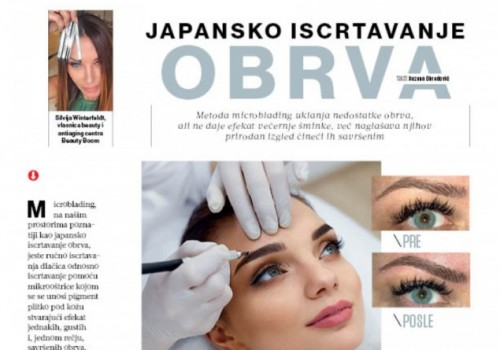 Magazin Lepa i Srećna - Japansko iscrtavanje obrva